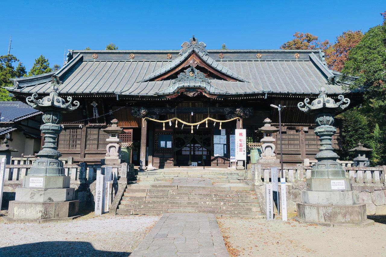 上野国一社八幡八幡宮