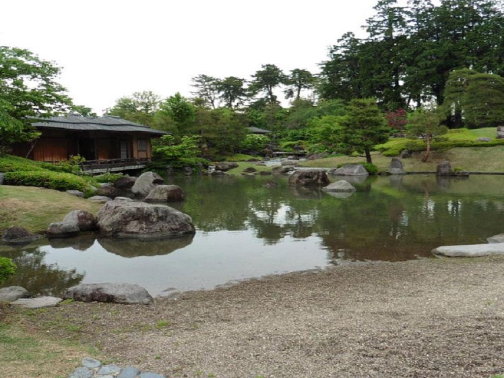 前橋公園 日本庭園