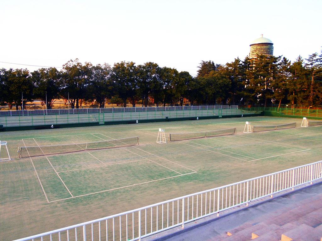 県立敷島公園テニスコート